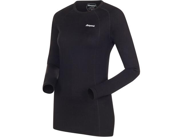 Bergans Fjellrapp T-shirt Femme, black